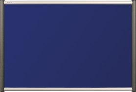 Tablica tekstylna (niebieski-unijny) Rama Vito 100×150 cm