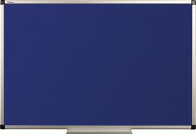 Tablica tekstylna (niebieski-unijny) rama aluminiowa model B1 60×90 cm