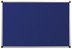 Tablica tekstylna (niebieski-unijny) rama aluminiowa model B2 90×120 cm