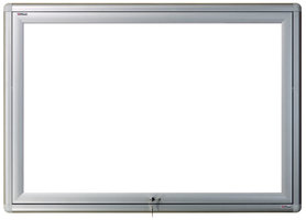 Gablota zewnętrzna Oxford magnetyczna 107x124 (15xA4)