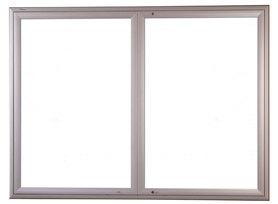 Gablota Ibiza zewnętrzna magnetyczna 107x198 (24xA4) 2-drzwiowa
