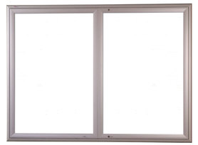 Gablota Ibiza zewnętrzna magnetyczna 107x242 (30xA4) 2-drzwiowa