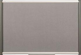 Tablica tekstylna (szara) Rama Vito 45×60 cm
