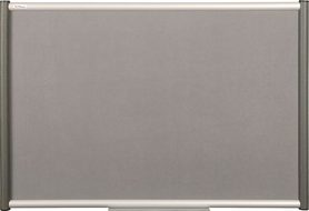 Tablica tekstylna (szara) Rama Vito 120x180 cm