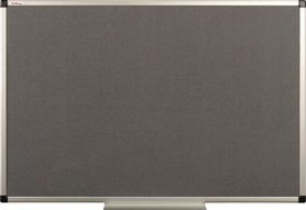 Tablica tekstylna (szara) rama aluminiowa model B1 60×90 cm