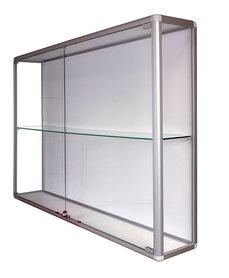 Witryna wisząca drzwi uchylne wys. 104 x szer. 170 x gr.25