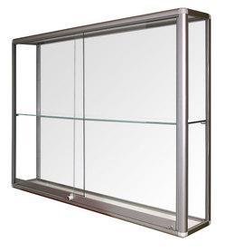 Witryna wisząca drzwi przesuwane wys. 106 x szr.164 x gr.25