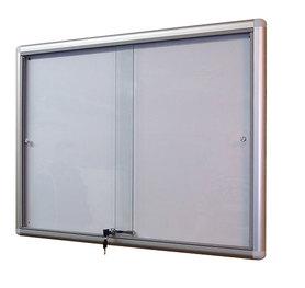 Gablota Dallas eco Magnetyczna-drzwi przesuwane 104x98 (12xA4)