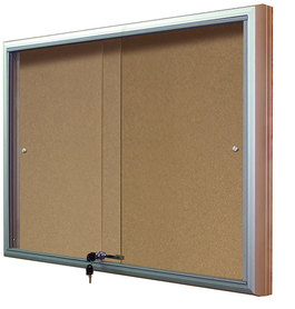 Gablota Casablanka eco korkowa-drzwi przesuwane 74x120 (10xA4)