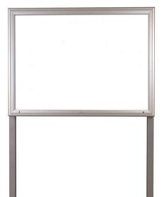 Gablota Aspen stojąca magnetyczna 80x100 cm