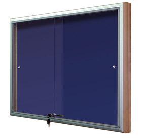 Gablota Casablanka eco tekstylna-drzwi przesuwane 104x98 (12xA4)