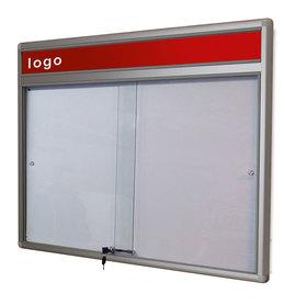 Gablota Dallas eco Magnetyczna-drzwi przesuwane z logo 89x77 (6xA4)
