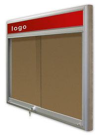 Gablota Casablanka korkowa-drzwi przesuwane z logo 121x142 (18xA4)