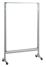 Mobilna ścianka biała suchościeralno magnetyczna 120x160 cm