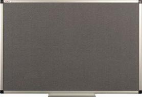 Tablica tekstylna (szara) rama aluminiowa model B2 100x200 cm