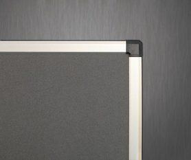 Ścianka parawanowa stacjonarna (szara) 120x180 cm