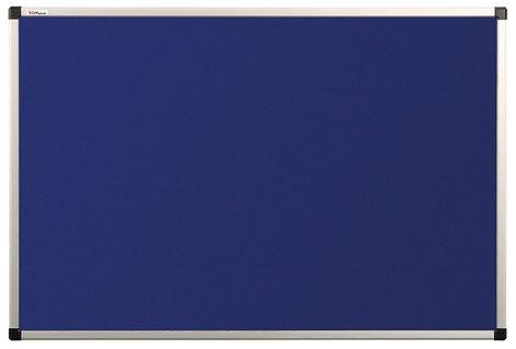 Tablica tekstylna (niebieski-unijny) rama aluminiowa model B2 60×90 cm (1)