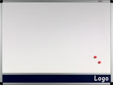 Tablica na logo biała w ramie aluminiowej B1 120x180 cm