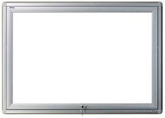 Gablota zewnętrzna Oxford magnetyczna 84x144 cm