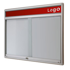 Gablota Dallas  Magnetyczna-drzwi przesuwane z logo 91x120 (10xA4)